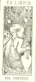 EX LIBRIS ANT. MARTÍNEK (odkaz v elektronickém katalogu)
