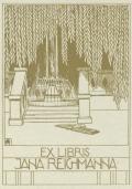 EX LIBRIS JANA REICHMANNA (odkaz v elektronickém katalogu)