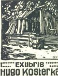 EXLIBRIS HUGO KOSTERKA (odkaz v elektronickém katalogu)