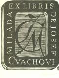 MILADA EX LIBRIS DR. JOSEF CVACHOVI (odkaz v elektronickém katalogu)