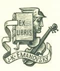 EX LIBRIS J. K. EMANOVSKÝ (odkaz v elektronickém katalogu)