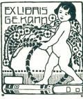 EX LIBRIS G.E.KANN (odkaz v elektronickém katalogu)
