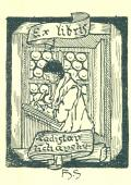 Ex libris Ladislav Vichavský (odkaz v elektronickém katalogu)