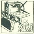 EX LIBRIS VOJTĚCH PREISSIG (odkaz v elektronickém katalogu)