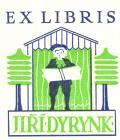 EX LIBRIS JIŘÍ DYRYNK (odkaz v elektronickém katalogu)