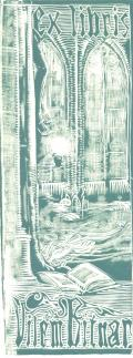 Ex libris Vilém Bitnar (odkaz v elektronickém katalogu)