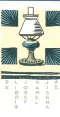 EX LIBRIS JOSEF KAREL JISKRA AŠ (odkaz v elektronickém katalogu)