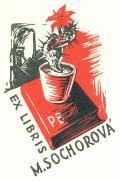 EX LIBRIS M. SOCHOROVÁ (odkaz v elektronickém katalogu)