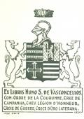 Ex Libris Nuno S. De Vasconcellos (odkaz v elektronickém katalogu)