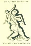 EX LIBRIS EROTICIS N. S. DE VASCONCELLOS (odkaz v elektronickém katalogu)