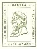 EX BIBLIOTHECA DANTEA H.BURIOT-DARSILES (odkaz v elektronickém katalogu)