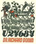 DR. RICHARD DONIN (odkaz v elektronickém katalogu)