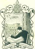 G.M. : EXLIBRIS SCHOLAE SANCTI PETRI COLLEGIATAE (odkaz v elektronickém katalogu)
