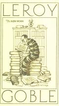 LEROY The BOOK-WORM GOBLE (odkaz v elektronickém katalogu)