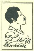 Ex Libris J. Nováček (odkaz v elektronickém katalogu)