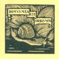 DOMUS MEA EST ORBIS MEUS (odkaz v elektronickém katalogu)
