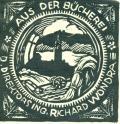 AUS DER BÜCHEREI D. DIREKTORS ING. RICHARD WONDRA (odkaz v elektronickém katalogu)