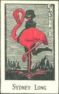 EXLIBRIS SYDNEY LONG (odkaz v elektronickém katalogu)