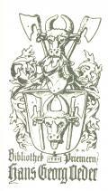 Bibliothek 1539 Priemern Hans Georg Oeder (odkaz v elektronickém katalogu)