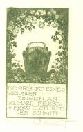 DIE GEBURT EINES GESUNDEN ZEIGEN AN RICHARD FILSER u FRAU CLOTHILDE GEB. SCHMITT (odkaz v elektronickém katalogu)