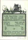 WIR BAUTEN UNS EIN NEUES NEST: KARTHÄUSERSTR. 20 (odkaz v elektronickém katalogu)