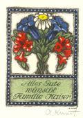 Alles Gute wünscht Familie Kaiser (odkaz v elektronickém katalogu)