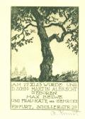 AM 27. XI. 23 WURDE UNS D. SOHN: MARTIN ALBRECHT GEBOREN MAX BELVE UND FRAU KÄTE, geb. GEHRCKE (odkaz v elektronickém katalogu)