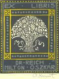 EX LIBRIS DR. REICH MILTON OSZKÁR (odkaz v elektronickém katalogu)