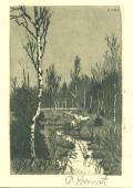 [Krajina s potokem a břízkami] (odkaz v elektronickém katalogu)
