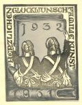 HERZLICHEN GLÜCKWUNSCH FAMILIE KUNST (odkaz v elektronickém katalogu)