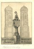Regensburger Genossen Studien - München (odkaz v elektronickém katalogu)