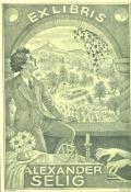 EXLIBRIS ALEXANDER SELIG (odkaz v elektronickém katalogu)