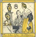 Exlibris Líba a Jos. Wegerovi (odkaz v elektronickém katalogu)
