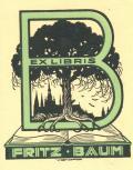 EX LIBRIS FRITZ BAUM (odkaz v elektronickém katalogu)