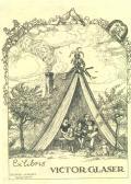 Exlibris VICTOR GLASER (odkaz v elektronickém katalogu)