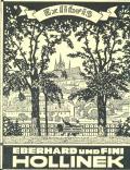 Exlibris EBERHARD UND FINI HOLLINEK (odkaz v elektronickém katalogu)
