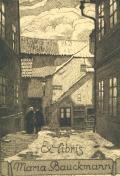 Exlibris Maria Bauckmann (odkaz v elektronickém katalogu)