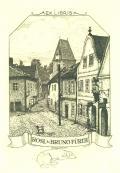 Ex Libris Rosl & Bruno Fürth (odkaz v elektronickém katalogu)
