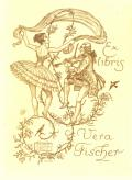 Ex libris Vera Fischer (odkaz v elektronickém katalogu)