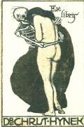 Ex libris Dr. Christ. Hynek (odkaz v elektronickém katalogu)