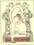 Ex libris Prof. Dr. O. Piffl (odkaz v elektronickém katalogu)