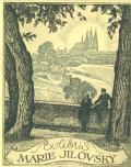 Exlibris MARIE JILOVSKY (odkaz v elektronickém katalogu)