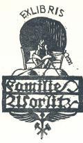 EXLIBRIS Kamille Worlitz (odkaz v elektronickém katalogu)