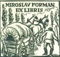 MIROSLAV FORMAN EX LIBRIS (odkaz v elektronickém katalogu)
