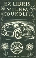 EX LIBRIS VILÉM KOUKOLÍK (odkaz v elektronickém katalogu)