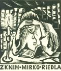 Z KNIH MIRKO RIEDLA (odkaz v elektronickém katalogu)