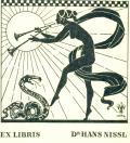 EX LIBRIS Dr. HANS NISSL (odkaz v elektronickém katalogu)