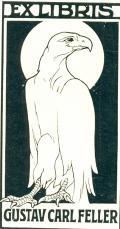 EX LIBRIS GUSTAV CARL FELLER (odkaz v elektronickém katalogu)