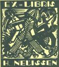 EX LIBRIS H.NELISSEN (odkaz v elektronickém katalogu)