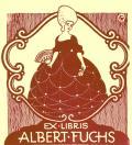 EX LIBRIS ALBERT FUCHS (odkaz v elektronickém katalogu)